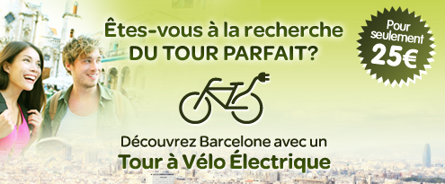 Barcelona e-Bike Tours. Tour guidé en bicyclette électrique à travers Barcelone