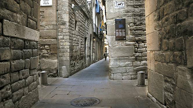 Calles con historia, Barcelona