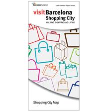 Barcelona Shopping City Map