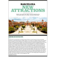 Barcelona Nuevas Atracciones