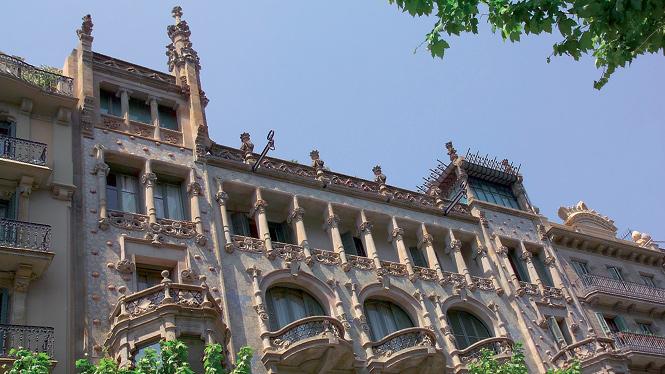 Casa thomas visit barcelona - Casa modernista barcelona ...
