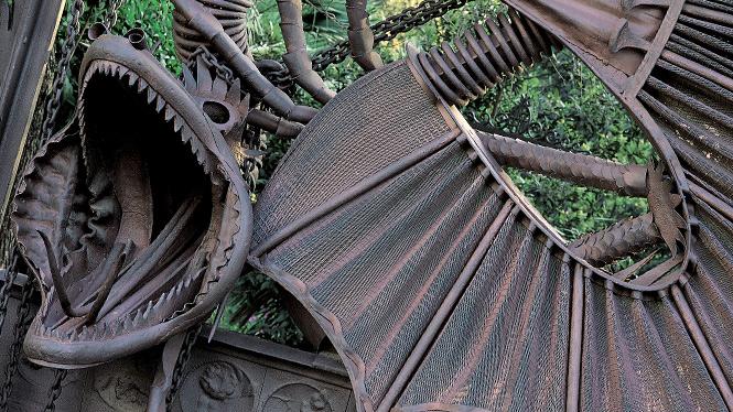 Pavillons de la finca g ell visit barcelona for Barcelona jardin gaudi