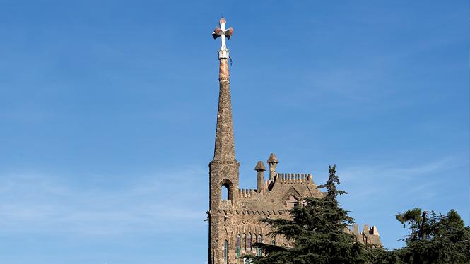 Torre bellesguard et viaduc visit barcelona - Casa torres barcelona ...