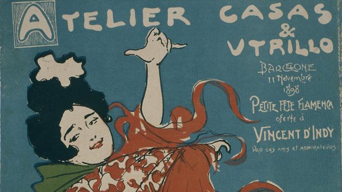Ramon Casas, Atelier Casas & Utrillo, 1898. Museu Nacional d'Art de Catalunya