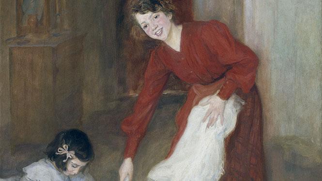 Lluïsa Vidal, Las amas de casa, 1905.