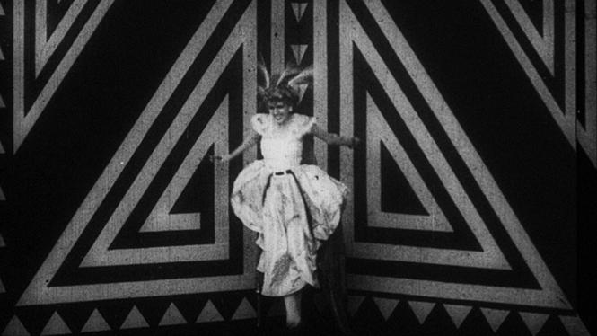 Fotograma de la película Thaïs, de Anton Giulio Bragaglia, 1917