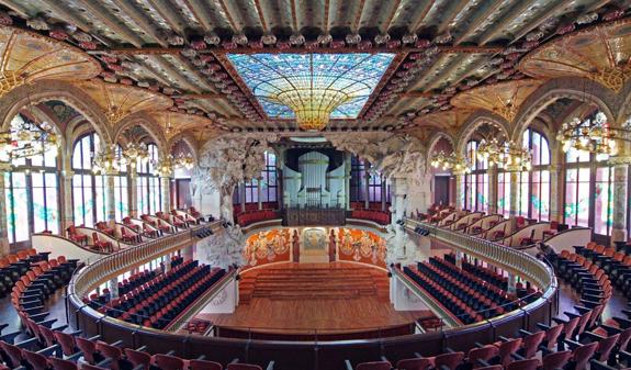 Palau de la Música Catalana  Visit Barcelona Tickets