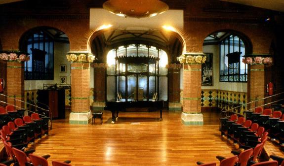 Palau de la m sica catalana - Casas de musica en barcelona ...