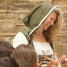 Medieval tour for children