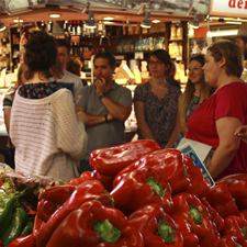 Boqueria Market + Paella Cooking Workshop