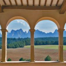 Montserrat, cocina catalana y vino en Oller del Mas