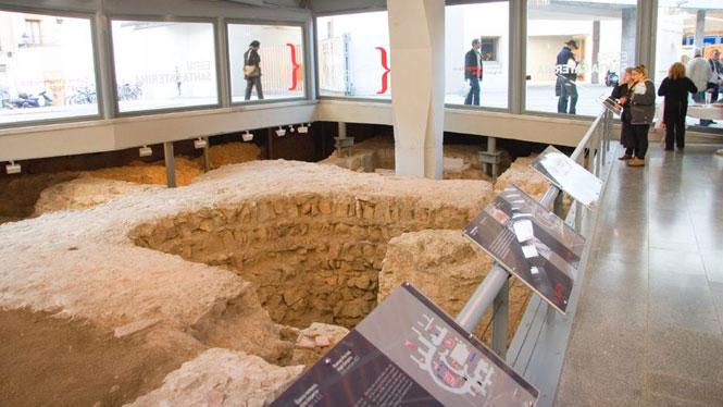 MUHBA - Museu d'Història de Barcelona - Santa Caterina