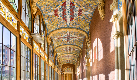 Sant pau art nouveau site visit barcelona tickets - Art deco barcelona ...